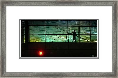 Nightwork Framed Print by Peggy Dietz