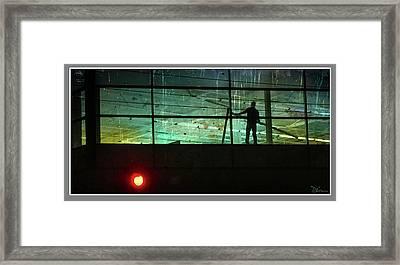 Nightwork Framed Print by Peggy Dietz