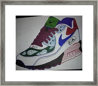 Nike Air Max Framed Print by Billz Williams