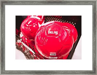 Nike Balls Framed Print