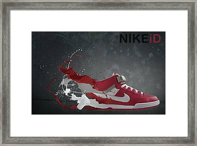 Nike Id Framed Print by Tom  Layland