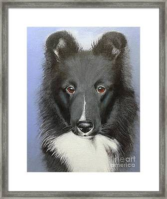 Nike Framed Print by Janice M Booth