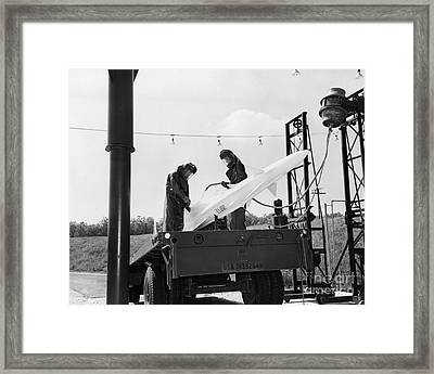Nike Missile, Us Army Framed Print by H. Armstrong Roberts/ClassicStock