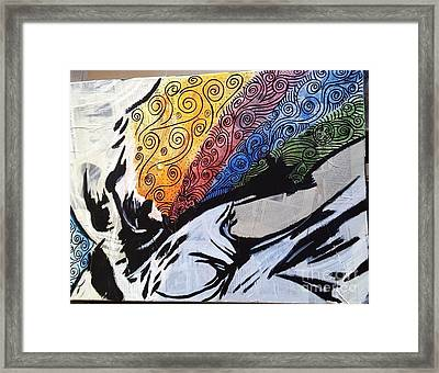 Nike Of Samothrace Today Framed Print by Nancy Lessard