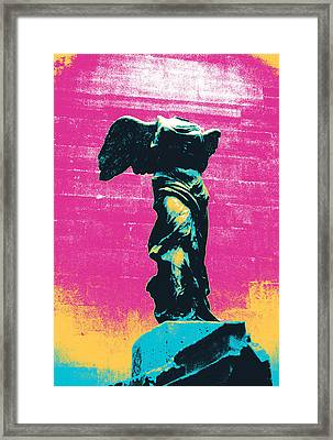 Nike Of Samothrase Framed Print by Shay Culligan