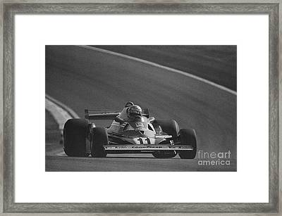 Niki Lauda. 1977 French Grand Prix Framed Print