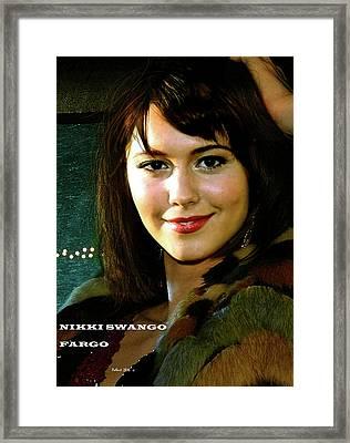 Nikki Swango, Fargo Season 3, Mary Elizabeth Winstead, Passion For Competitive Bridge Framed Print