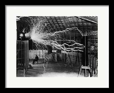 Mad Scientist Framed Prints