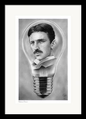 Alternating Current Framed Prints