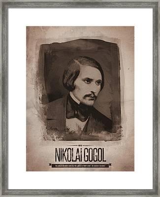 Nikolai Gogol Framed Print