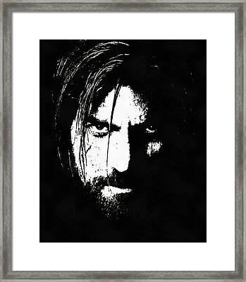 Nikolaj Coster-waldau  Framed Print