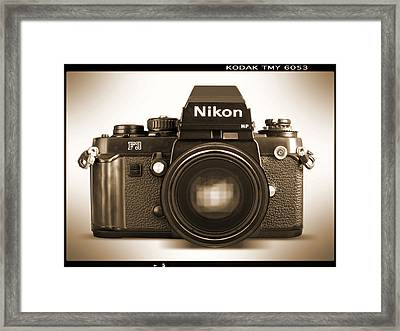 Nikon F3 Hp Framed Print by Mike McGlothlen