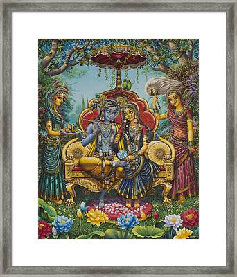 Nikunj Rasa Framed Print