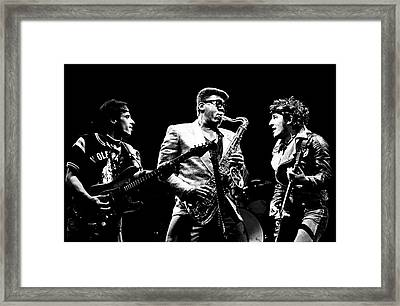 Nils The Big Man And The Boss Framed Print by Chris Walter