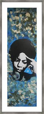 Nina Nina Framed Print