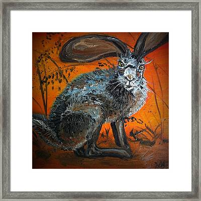 Nina's Rabbit Framed Print