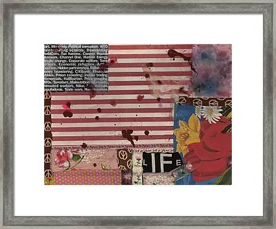 Nine Eleven Framed Print by Gloria Von Sperling