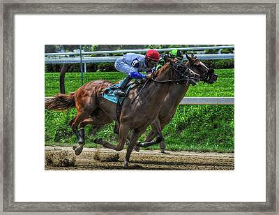 Nine Gaining Framed Print