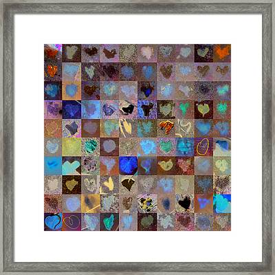 Nine Hundred Series Framed Print by Boy Sees Hearts