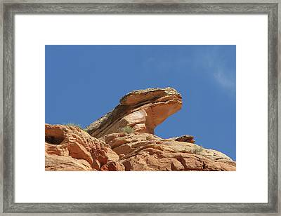 Nine Mile Canyon Utah  Framed Print by Christine Till