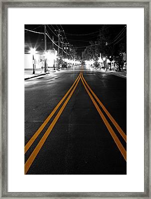 Nine Mile Framed Print