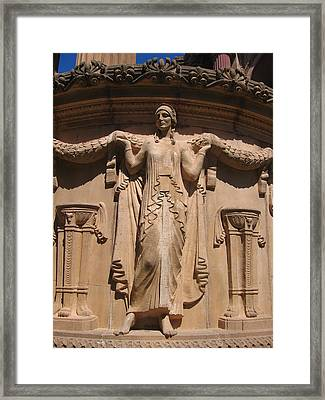 Nine-toed Maiden At The Palace Of Fine Arts In San Francisco Framed Print by Don Struke