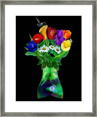Nineball Nectar Framed Print by Draw Shots