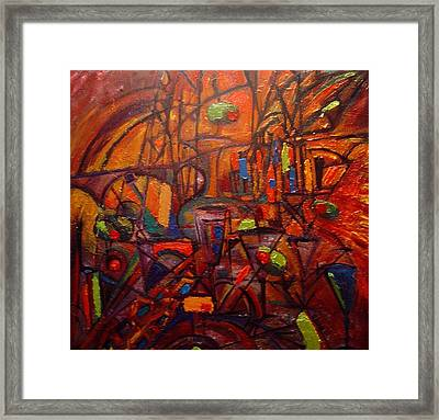 Nineteen Hundred Framed Print by David Grudniski