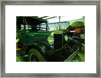 Nineteen Twenty Seven Model T Coupe Framed Print by Jeff Swan