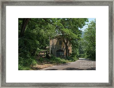 Ninfa Garden, Rome Italy 9 Framed Print by Perry Rodriguez