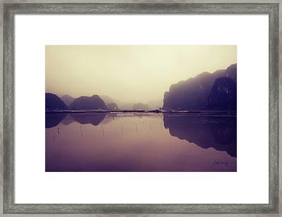Ninh Binh Framed Print by Joseph Westrupp