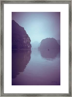Ninh Binh River Framed Print by Joseph Westrupp