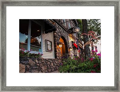 Nini's Restaurante Easthampton Framed Print