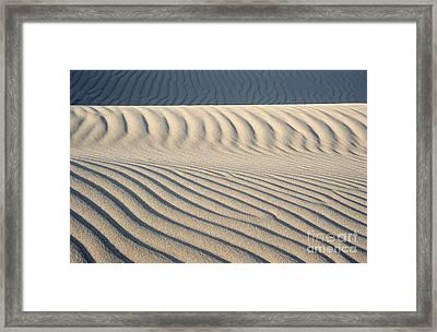 Nipomo Dunes Framed Print by Ronald Hoggard