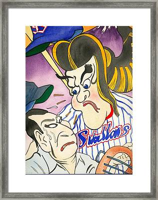 Nippon Baseball  Framed Print by Robert  Myers