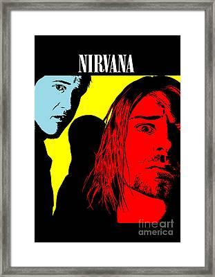 Nirvana No.01 Framed Print by Caio Caldas