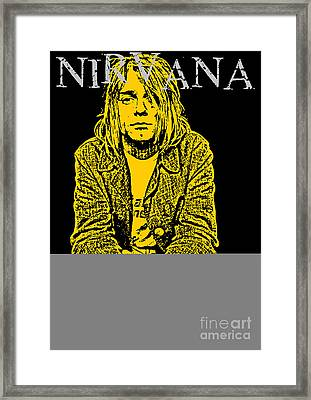 Nirvana No.07 Framed Print by Caio Caldas