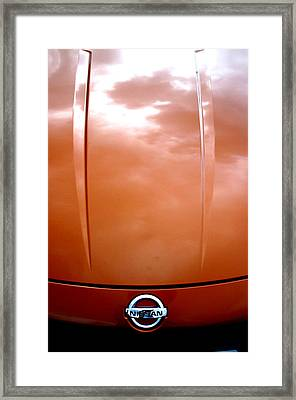 Nissan 11 Framed Print by Jez C Self