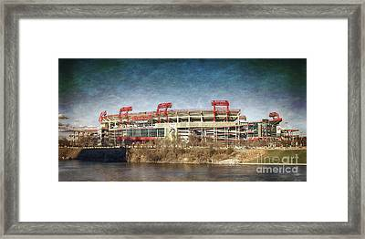 Nissan Stadium Framed Print by Tom Gari Gallery-Three-Photography