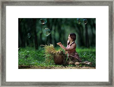 Nita Framed Print by Andre Arment