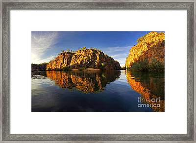 Nitimiluk Framed Print by Bill Robinson