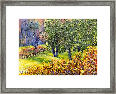 Nixon's A Glowing Morning View Framed Print
