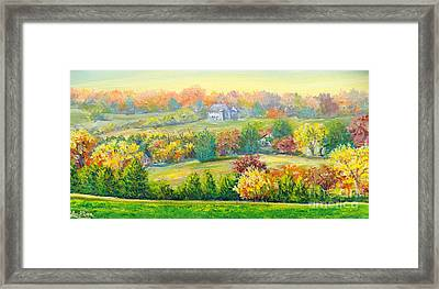 Nixon's Beauty Of Autumn Framed Print