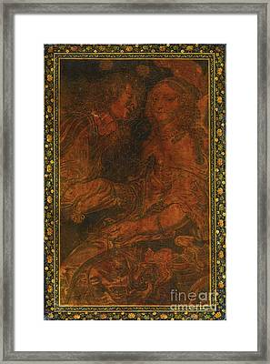 Nizami's Khamsa Framed Print by Celestial Images