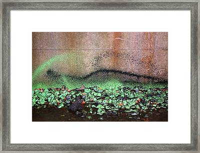 Nj Abstract Three Framed Print by Heather S Huston