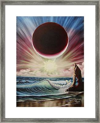 Njbda Starburst Framed Print by Daymon Archie