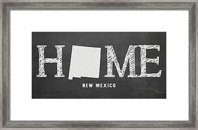 Nm Home Framed Print