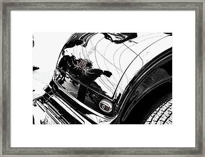 No. 1 Framed Print by Luke Moore