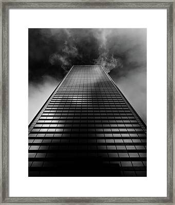 No 100 King St W Toronto Canada 1 Framed Print by Brian Carson