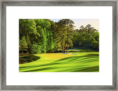 No. 11 White Dogwood 505 Yards Par 4 Framed Print